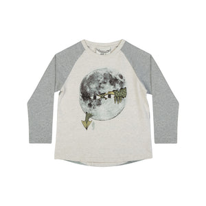Long Sleeve Raglan T-shirt - Where Dragons Come From