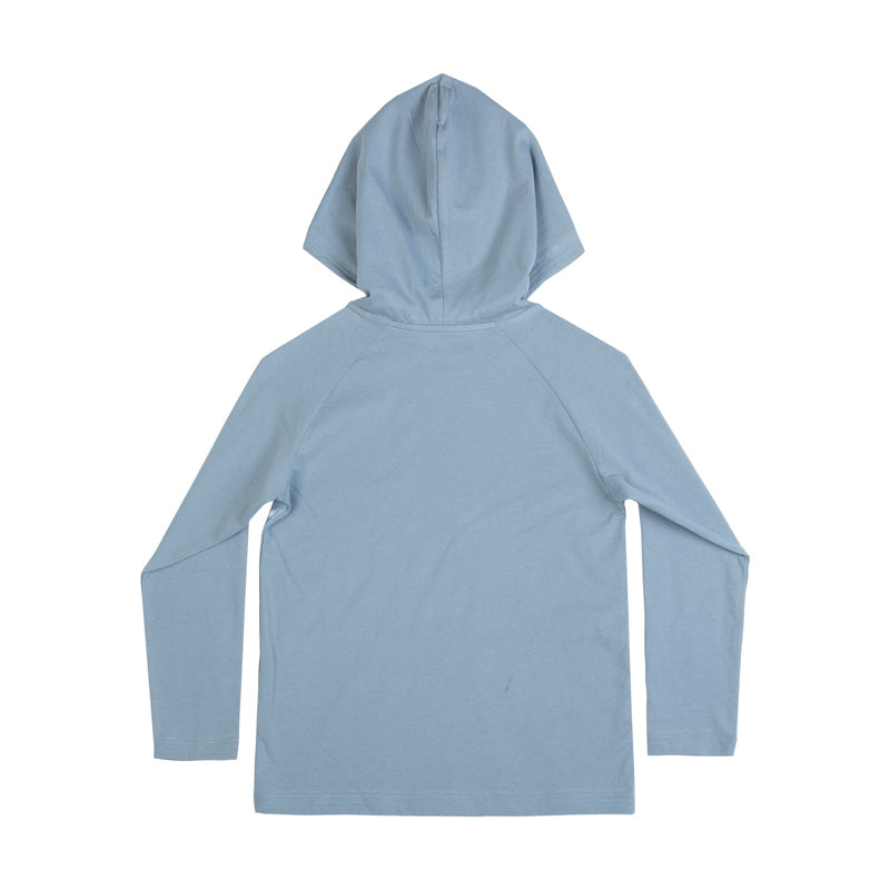 Hooded Raglan Long Sleeve T-shirt - One Small Leap