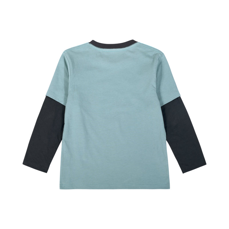 Double Sleeve T-Shirt - Natural vol 1
