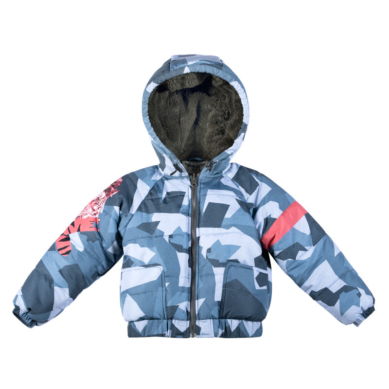 Puffer Jacket - Tiger Camo