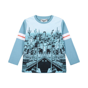 Classic Long Sleeve T-Shirt - Robot City