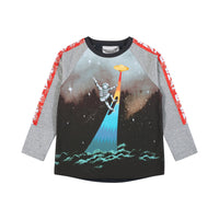 Long Sleeve Raglan T-Shirt - Robot Skate