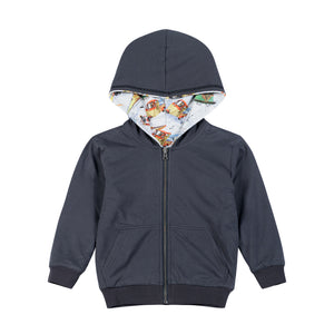 Reversible Hoodie - Future City