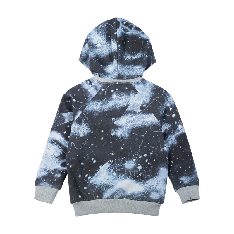 Hooded Sweater - Starry Night