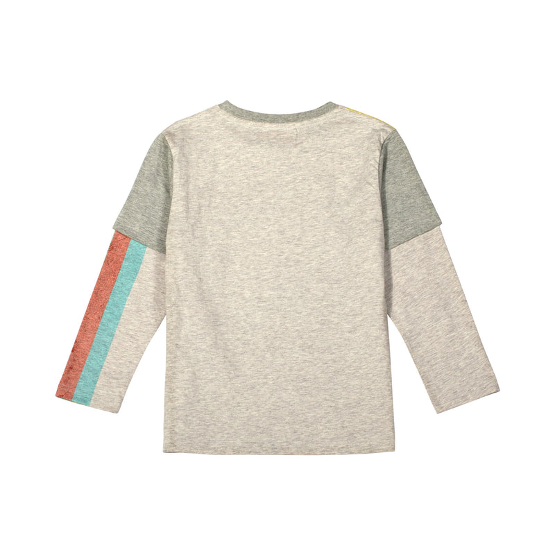 Double Sleeve T-shirt - Mega Bolt