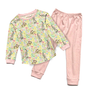 Long Sleeve Pyjama Set - Easter Dreaming