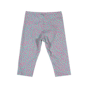 3/4 Leggings -  Flower Spots