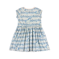 Capped Sleeve Dress - Unicorn Stripe