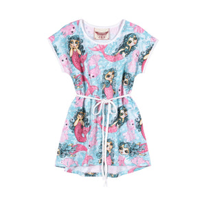 T-shirt Dress - Mermaids Reboot
