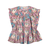 Frilled Smock Dress - Daisy Fairies