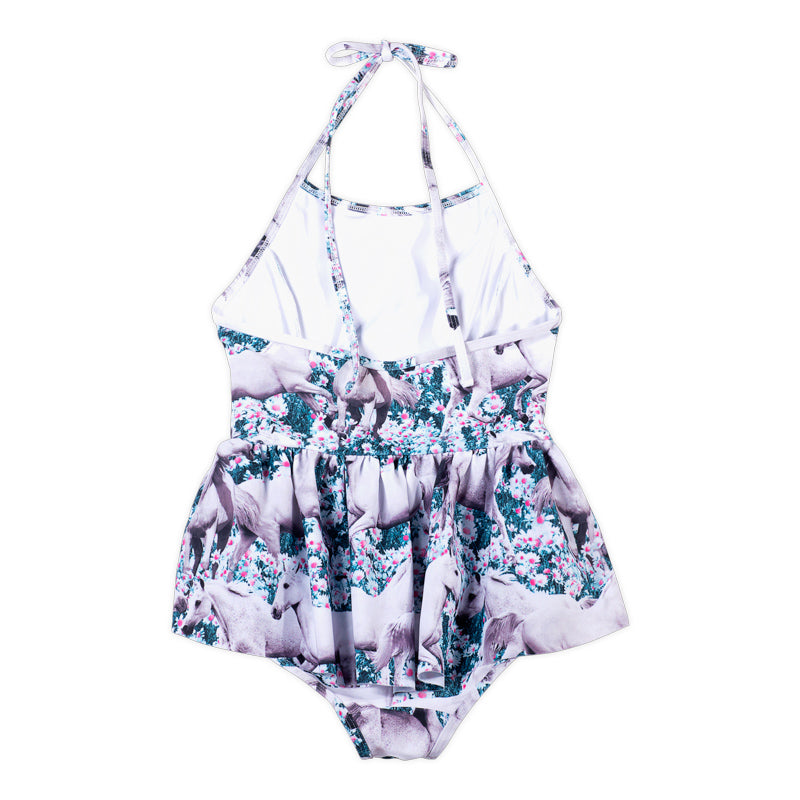 Halter One Piece with Frills - Dream Field