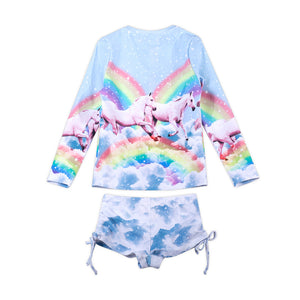 Rashie Set - Rainbow Unicorn