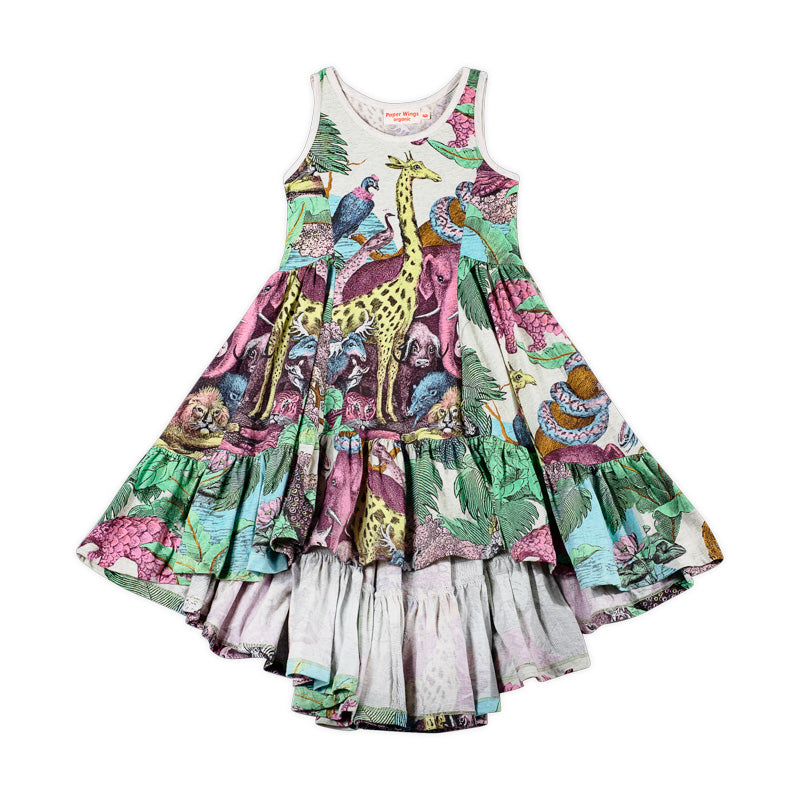 Frilled Swing Dress - Protect