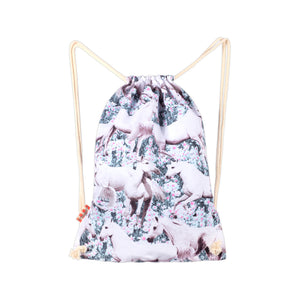 Drawstring Tote - Dream Field