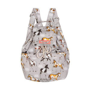 Drawstring Backpack - Pinto Foals