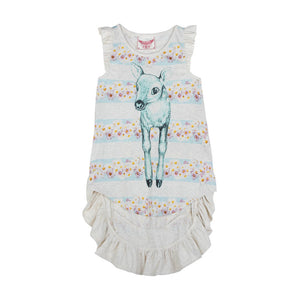 Racer Back Singlet Dress - Daisy Deer