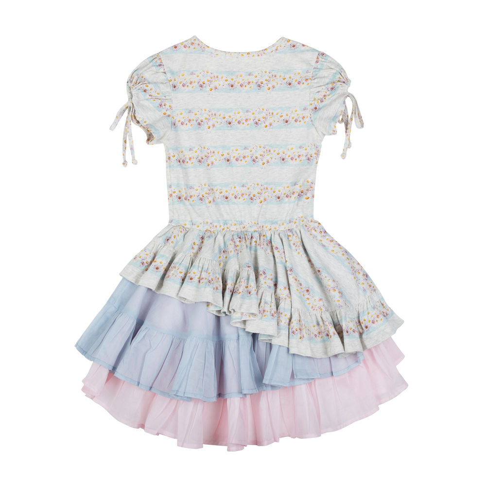 Dress w/ Keyhole Sleeves - Daisy Deer