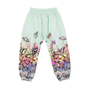 Shirred Trackies - Flower Garden