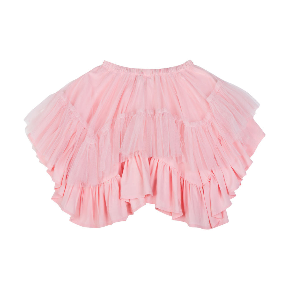 Frilled Tulle Skirt