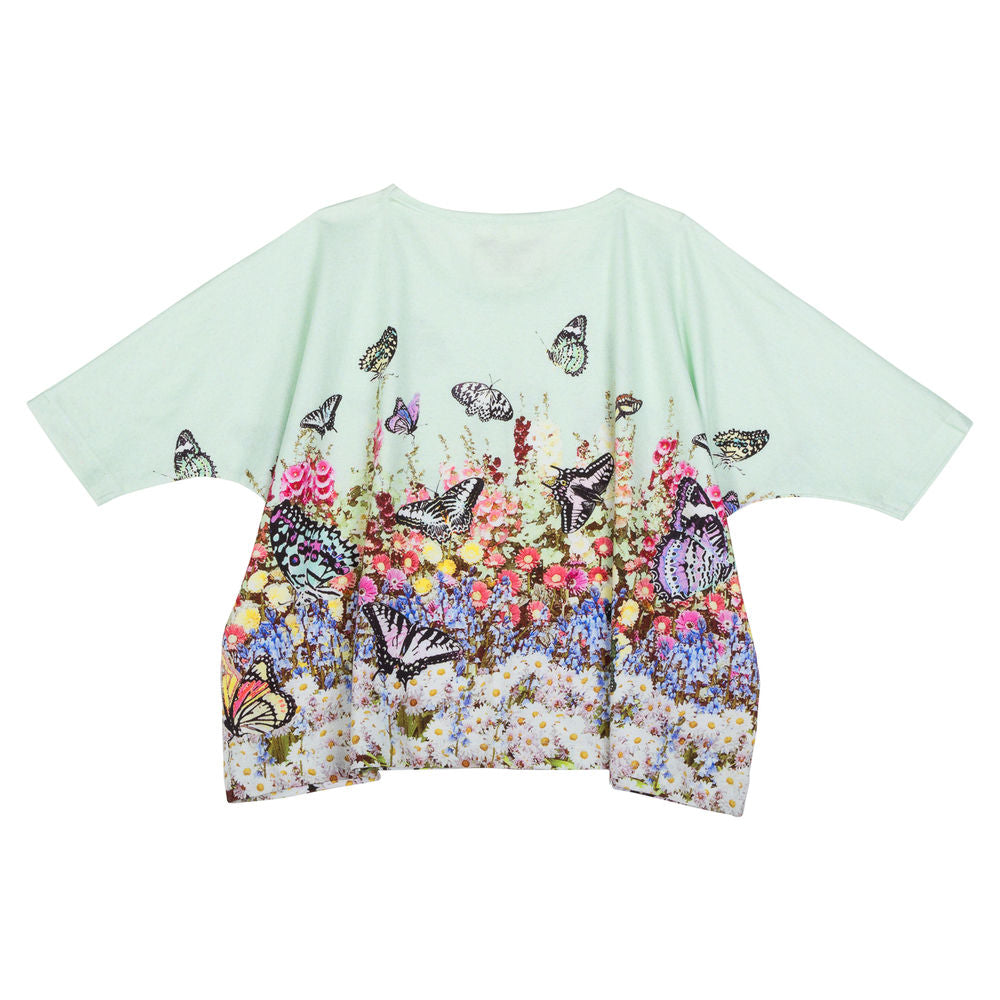 Oversized T-shirt - Flower Garden