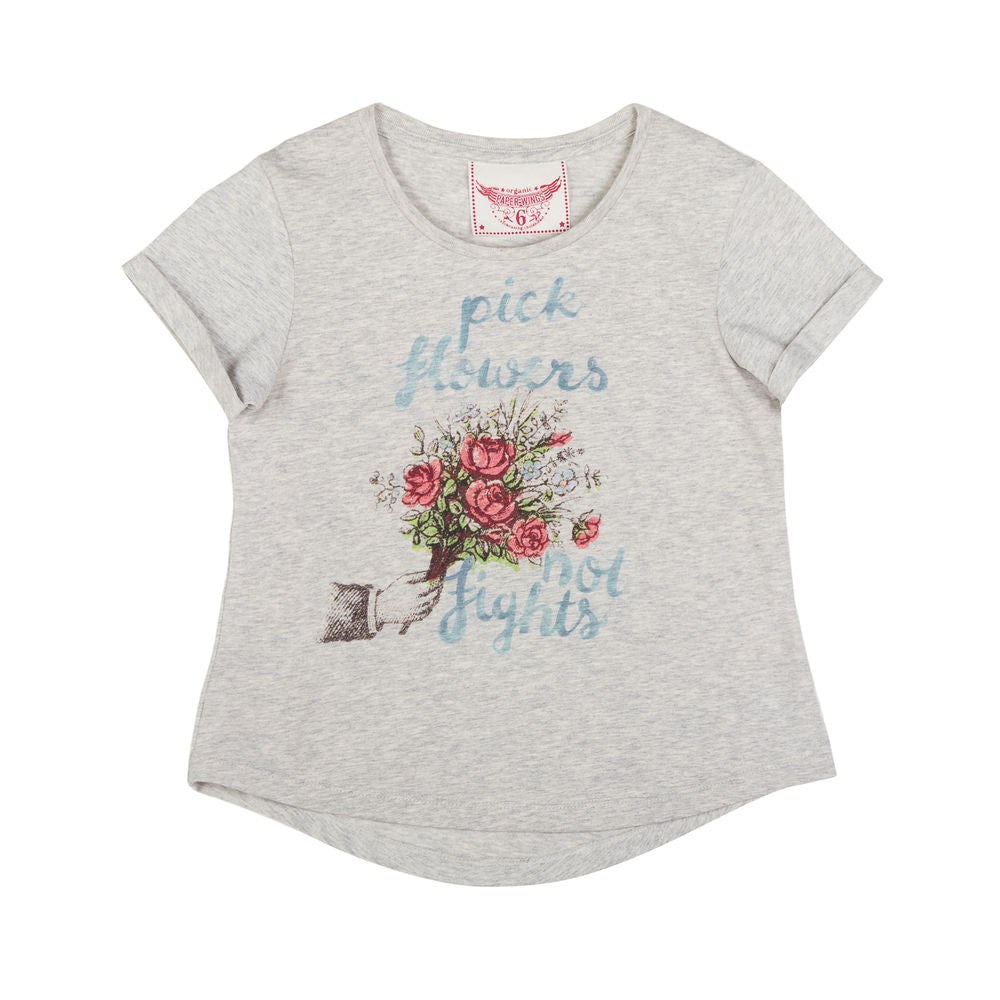 Loose Fit T-shirt - Pick Flowers