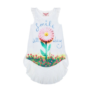 Racer Back Singlet Dress - Smile All Day
