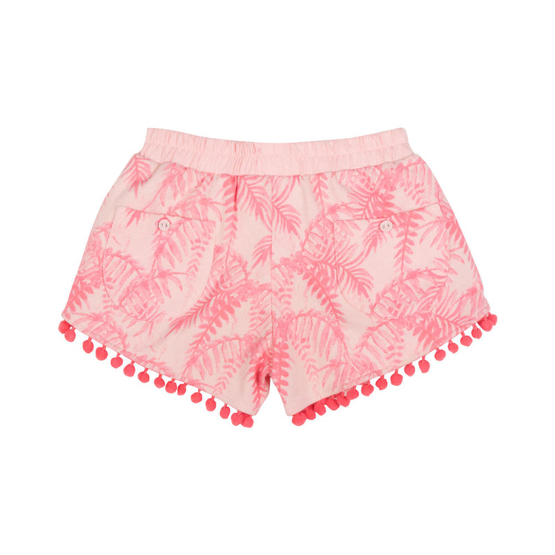 Fleece Wrap Shorts - Palm