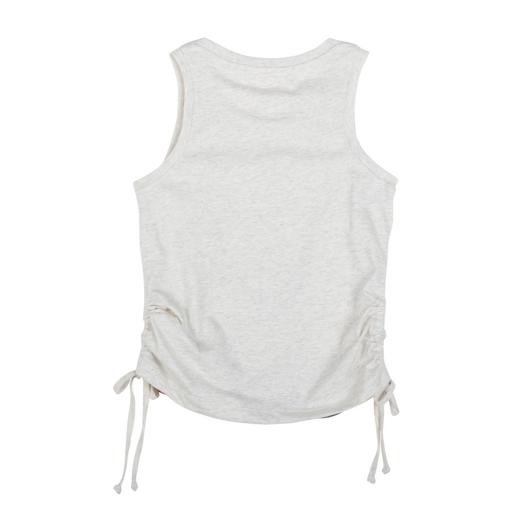 Drawstring Singlet - Smile All Day