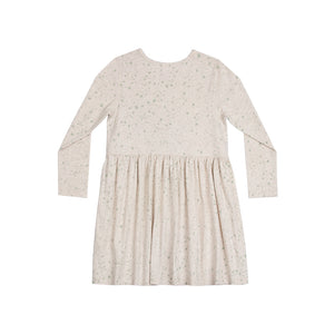 Frilled Shift Dress - Winter Unicorn