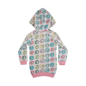 Fleece Hoodie Dress - Cameo Horses