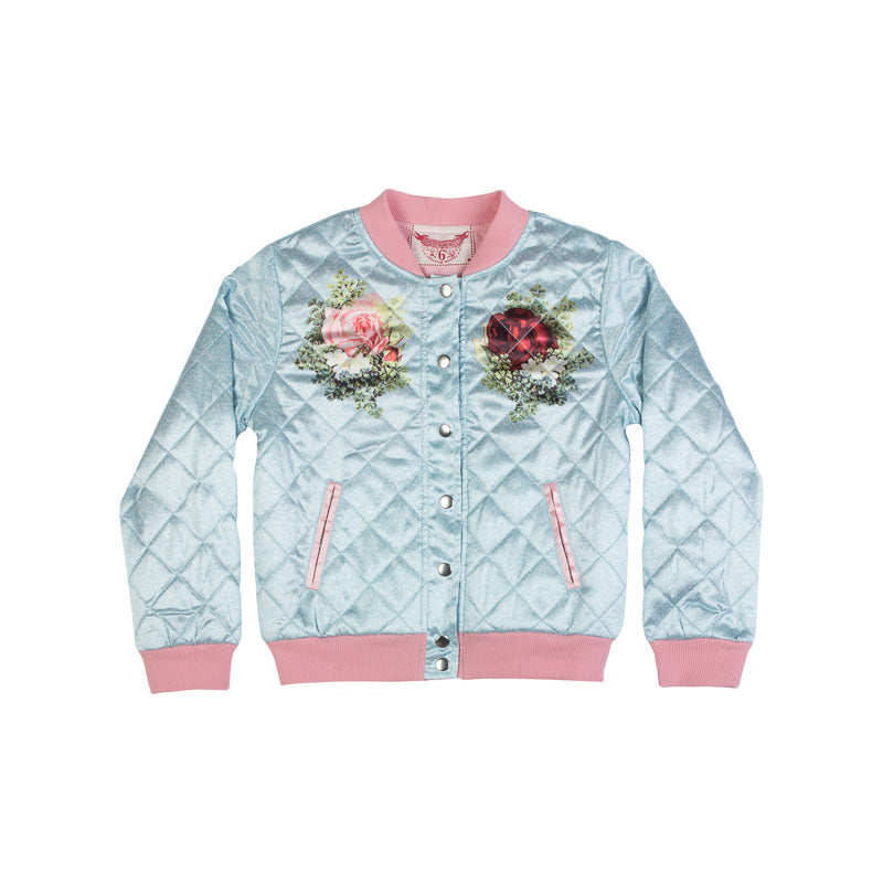 Quilted Bomber - Rosie Cats