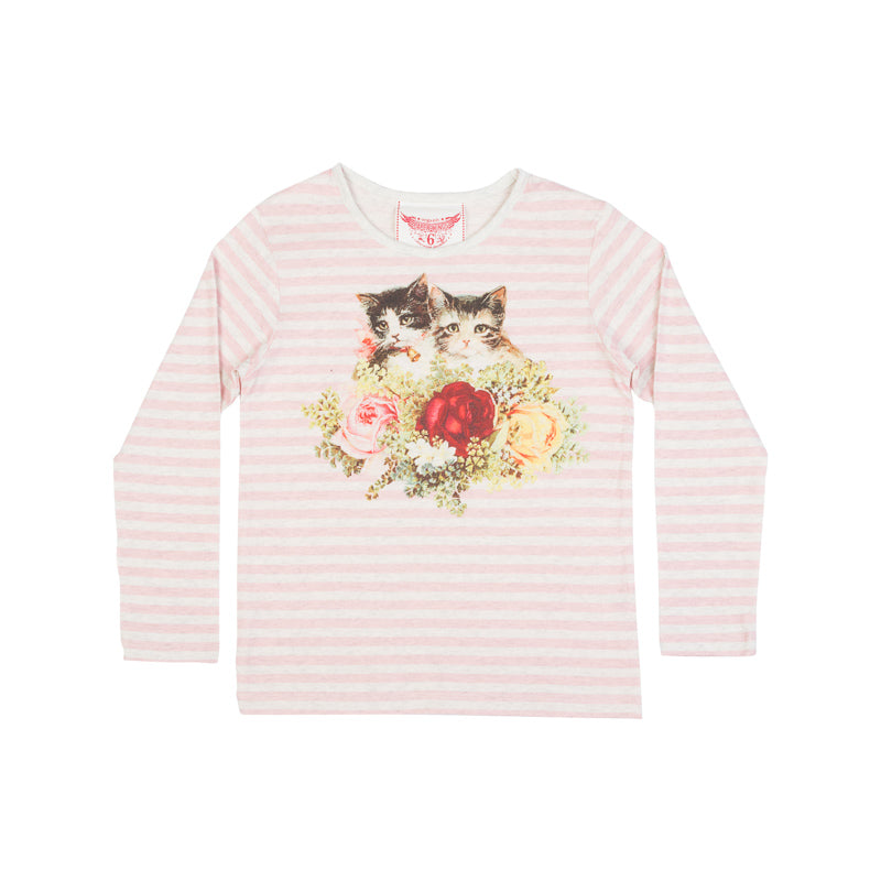Classic Long Sleeve T-Shirt - Rosie Cats