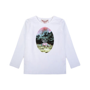 Classic Fitted T-shirt - Dusk Cameo