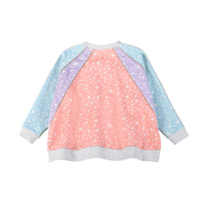Oversized Zip Sweater - Sparkle