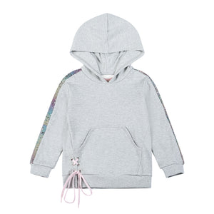 Hooded Sweater - Sequin Insert