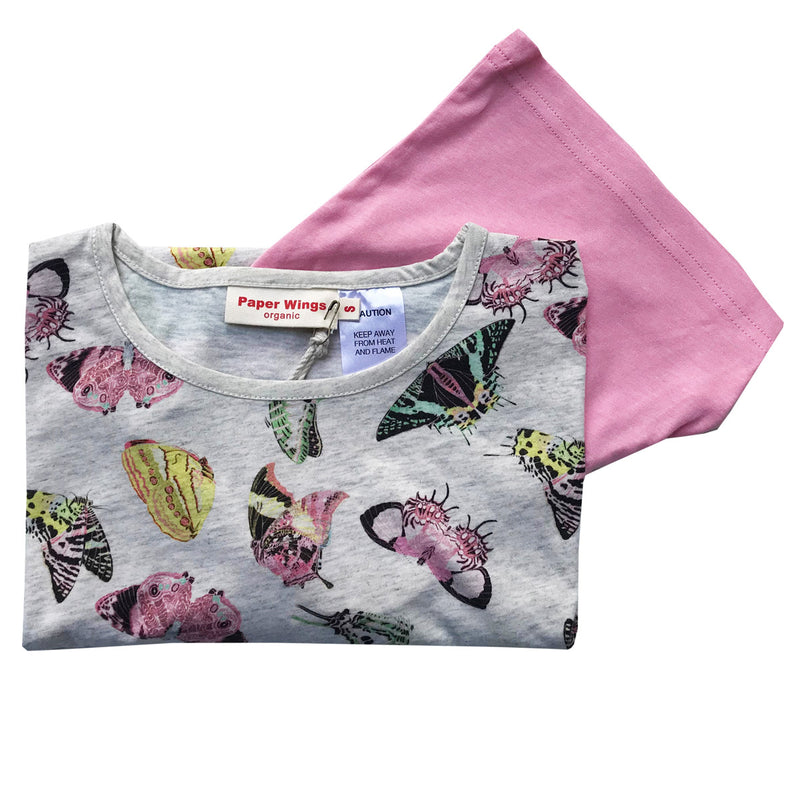 Kids Tank and Shorts Set - Butterflies