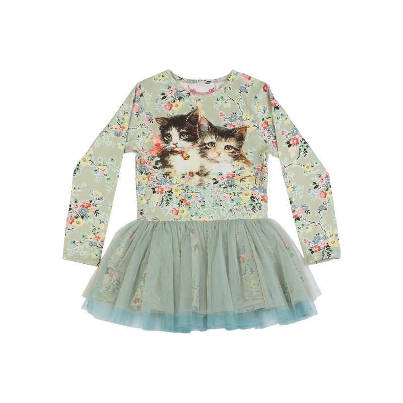 Tutu Dress - Vintage Rosie Cats