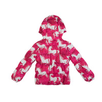 Puffer Jacket - Unicorns