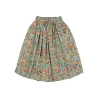Shirred Waist Skirt - Winter Field