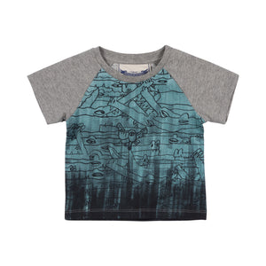 Raglan T-shirt - In The Deep