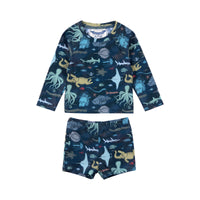 Long Sleeve Rashie Set  - Under The Sea