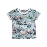 Cuff T-shirt - Sailing High