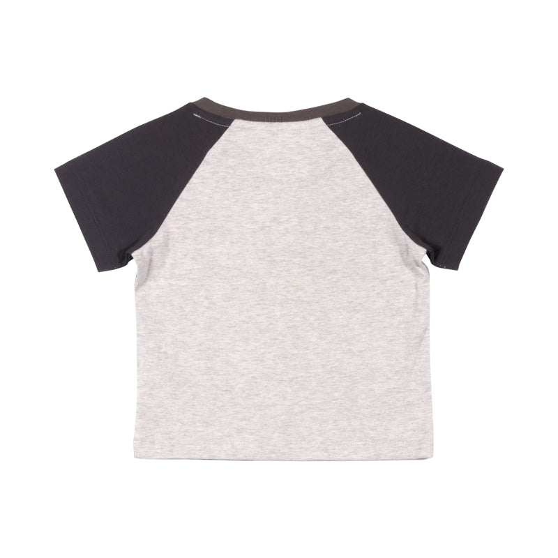Raglan T-shirt  - Deep Sea