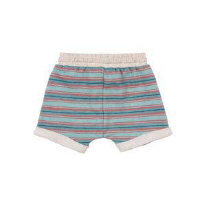 Short Trackie Shorts - Swash Buckler Stripe