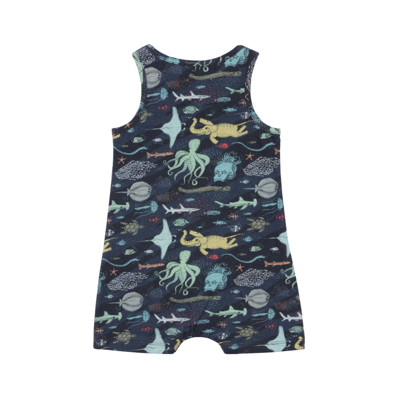 Singlet Romper - Under the Sea