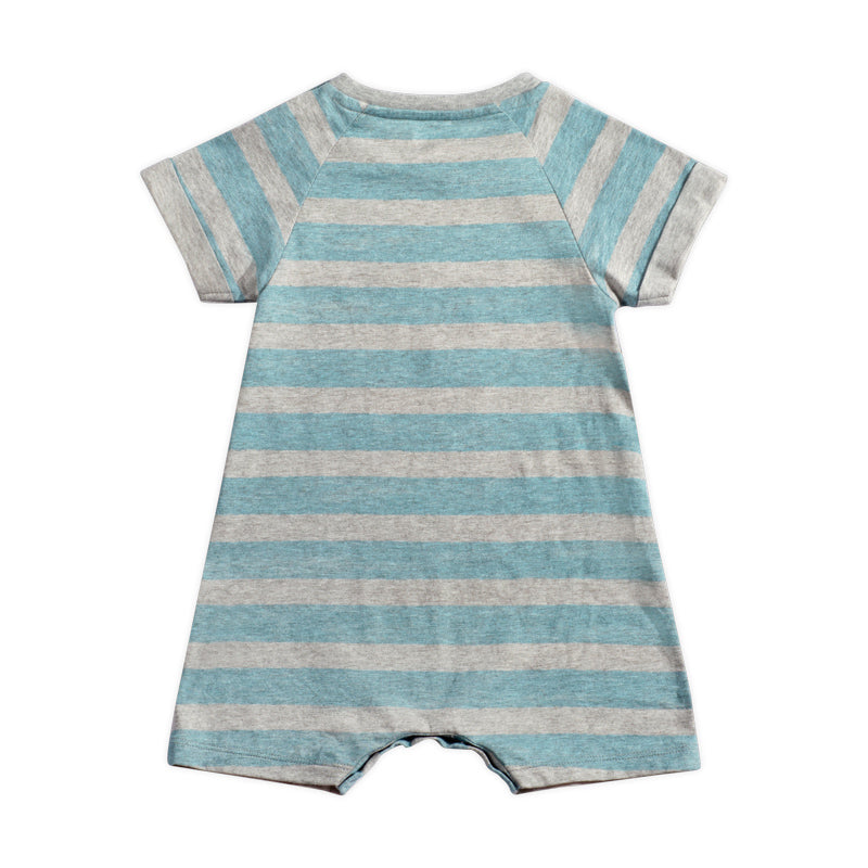 Raglan Cuff Romper - Happy Snapper