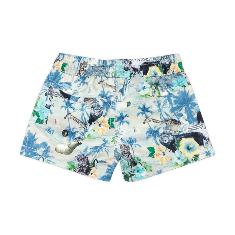 Classic Board shorts - Hawaiian Print