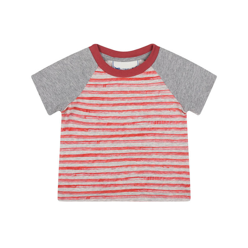 Raglan T-shirt - Tiger Stripe