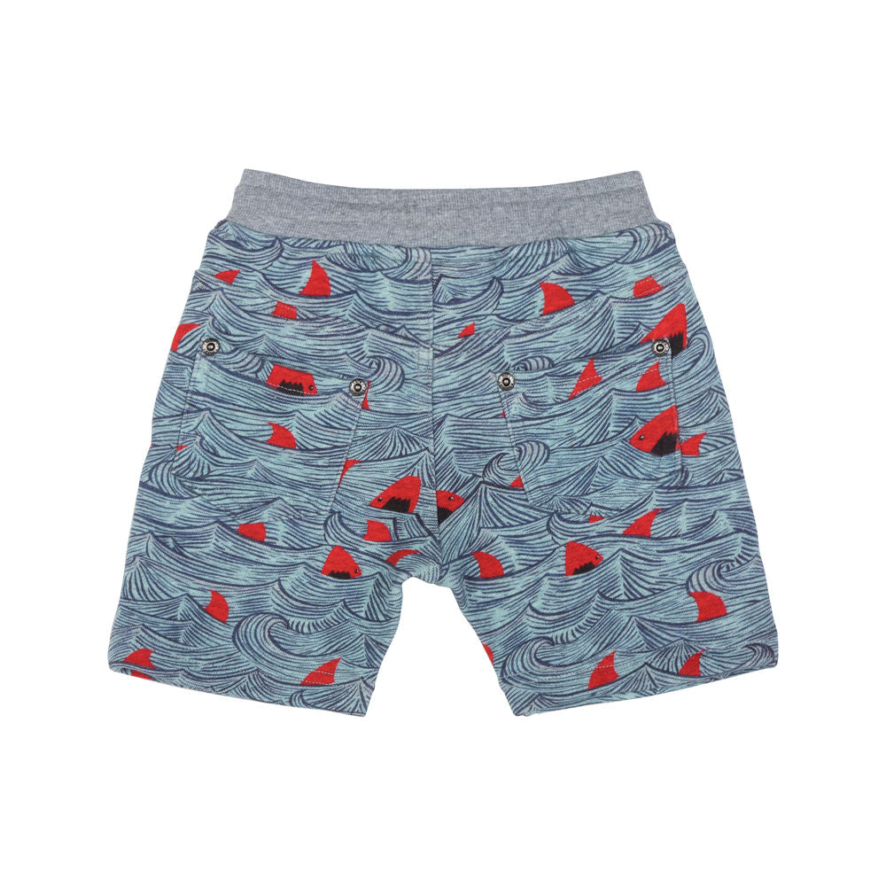 Trackie Shorts - Sharks Red
