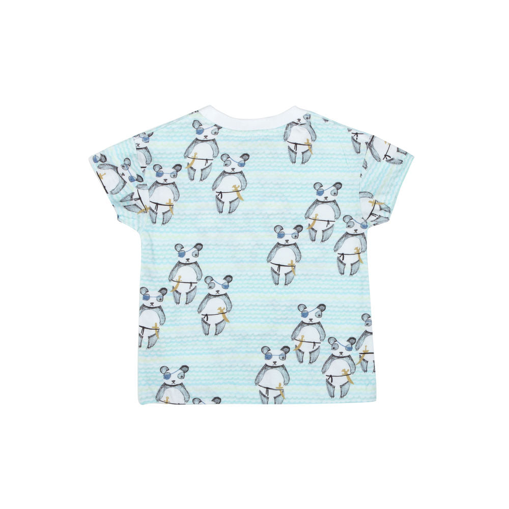 Drop Shoulder T-shirt - Random Pandas